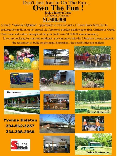 hore farm for sale alabama