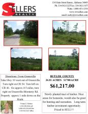 Butler County 36.01 Acres