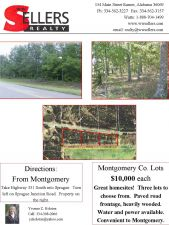 Two lots available Sprague Junction