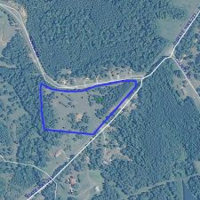 Nice 13 ac tract with road frontage in Bullock County