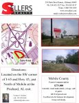 5 acre Commercial Lot, will divide, Mobile - ,